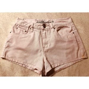 Dollhouse rosewater shorts